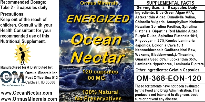 Ormus Minerals - Energized Ocean Nectar